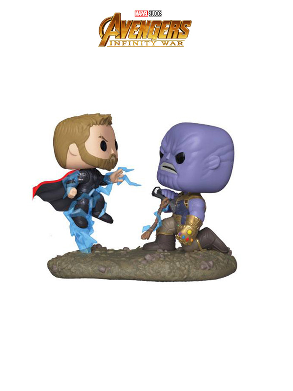 Funko Movies Movie Moments Avengers Infinity War Thor Vs Thanos (Damaged Box)
