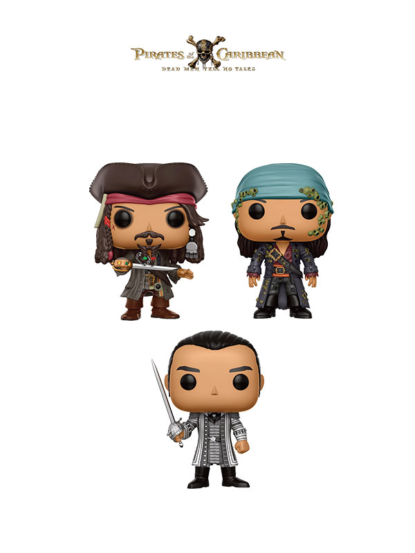 Funko Movies Pirates Of Caribbean Dead Men Tell No Tales