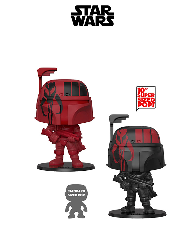Funko Movies Star Wars Boba Fett Supersized Black/Red