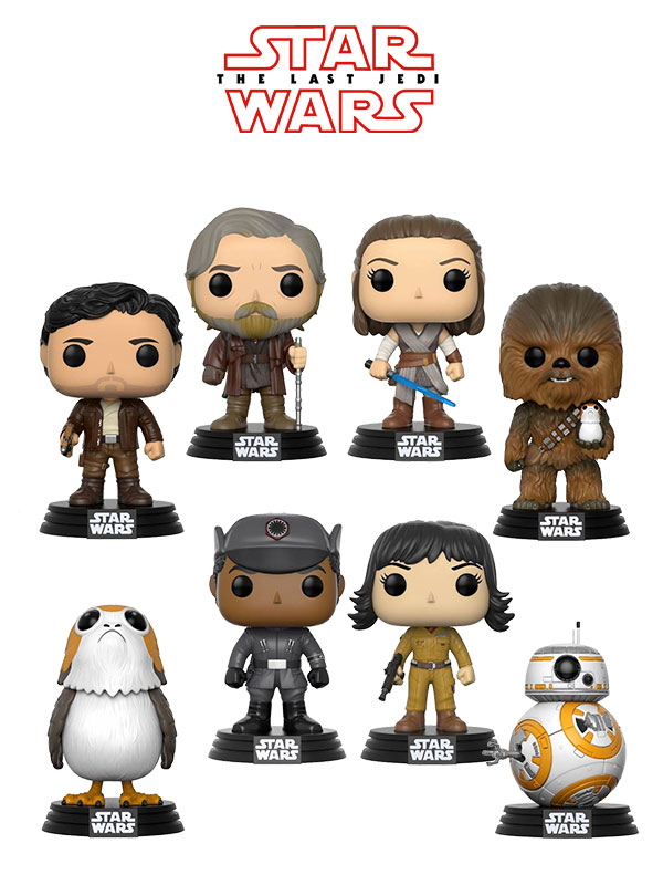 Funko Movies Star Wars The Last Jedi Wave 1