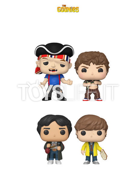 Funko Movies The Goonies Sloth/ Chunk/ Mikey With Map/ Data With Glove Punch