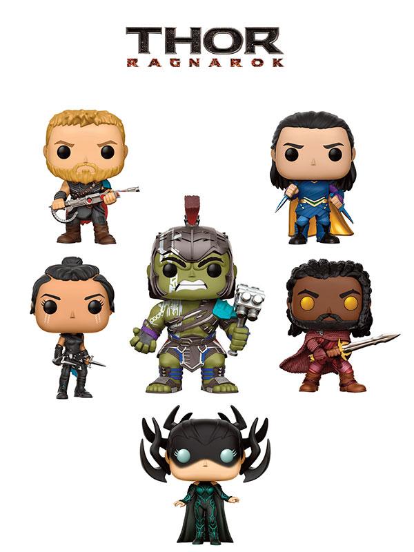 Funko Movies Thor Ragnarok Thor Loki Hulk Gladiator Haimdall Hela Valkyrie