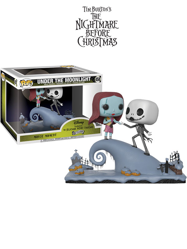 Funko Disney Nightmare Before Christmas Jack And Sally Movie Moments