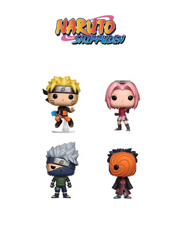Funko Animation Naruto Shippuden Set 2016