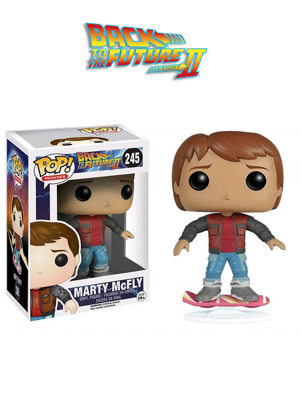 Funko Movies Back To The Future Part II Marty Overboard Exclusive No Box