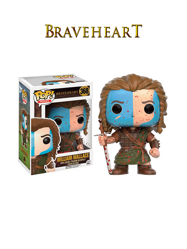 Funko Movies Braveheart William Wallace Blood Limited