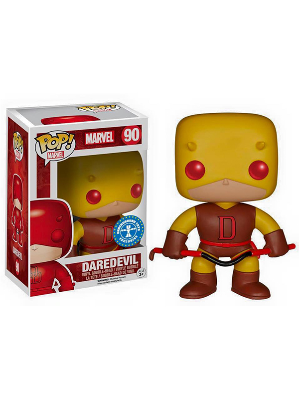 Funko Marvel Daredevil Yellow Exclusive #90