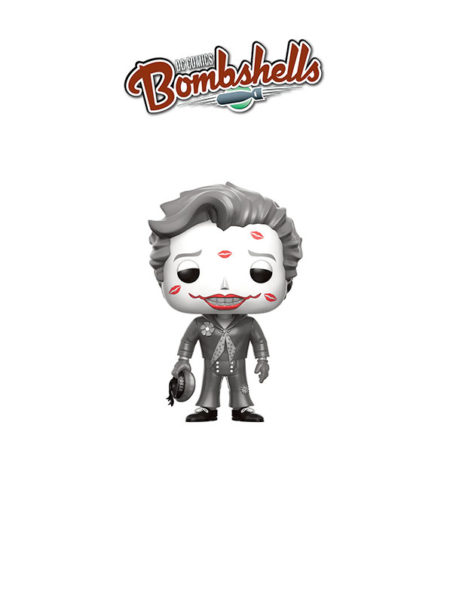 Funko Dc Bombshells Joker Kisses Black & White Chase