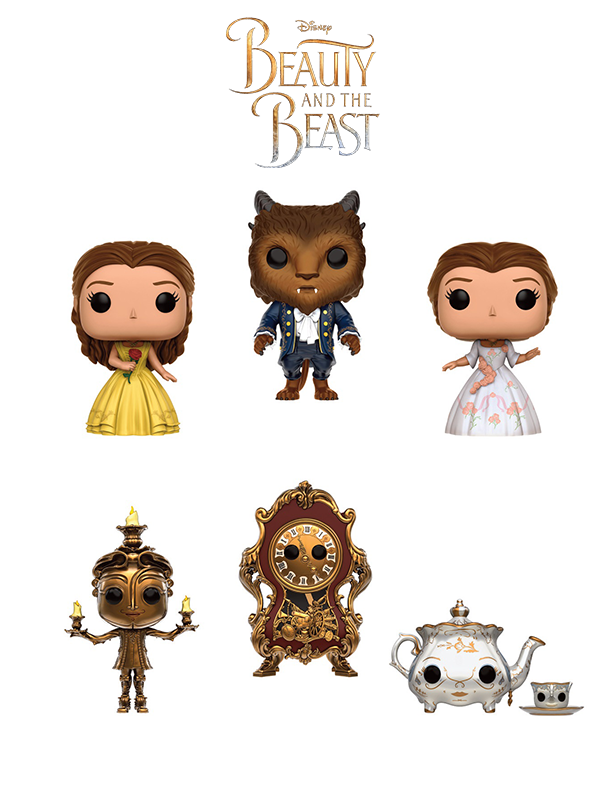 Funko Disney Beauty And The Beast Live Action