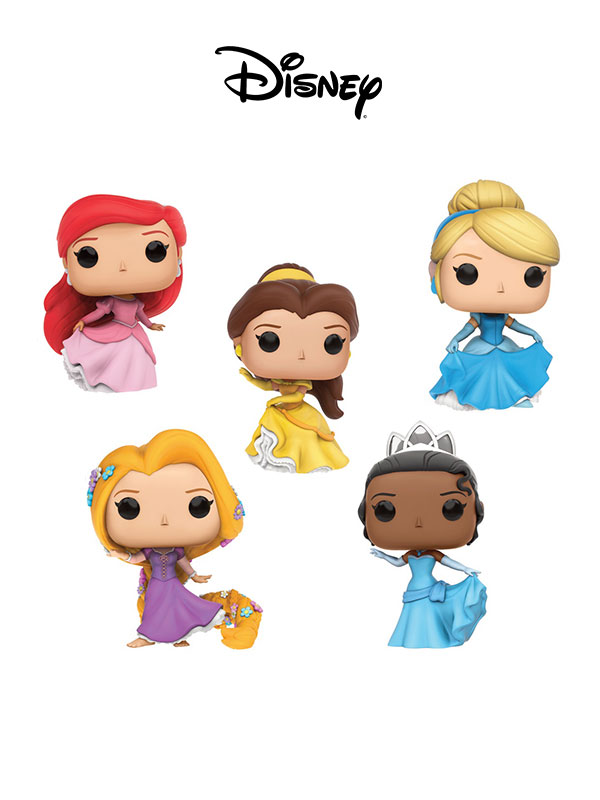 Funko Disney Princesses In Gown