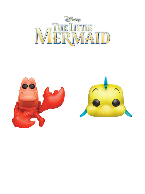 Funko Disney The Little Mermaid Sebastian & Flounder