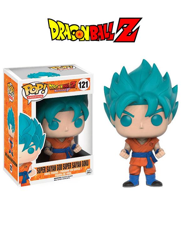 Funko Animation Dragonball Z Goku Super Sayan God Limited