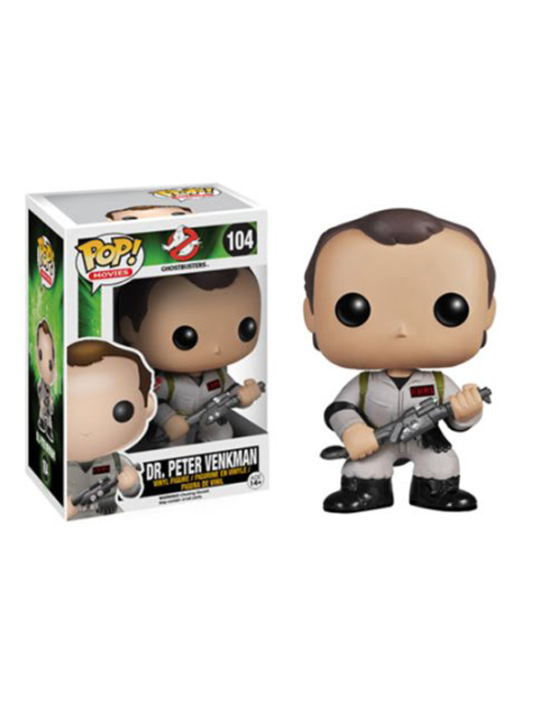Funko Movies Ghostbusters Dr. Peter Venkman #104