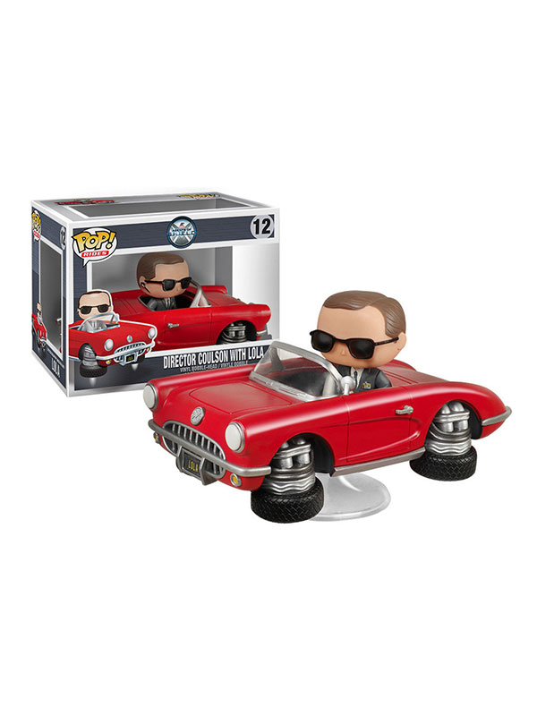 Funko Rides Marvel Agents Of Shield Agent Coulson And Lola