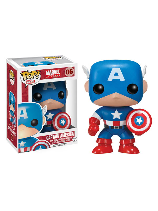 Funko Marvel Captain America #06