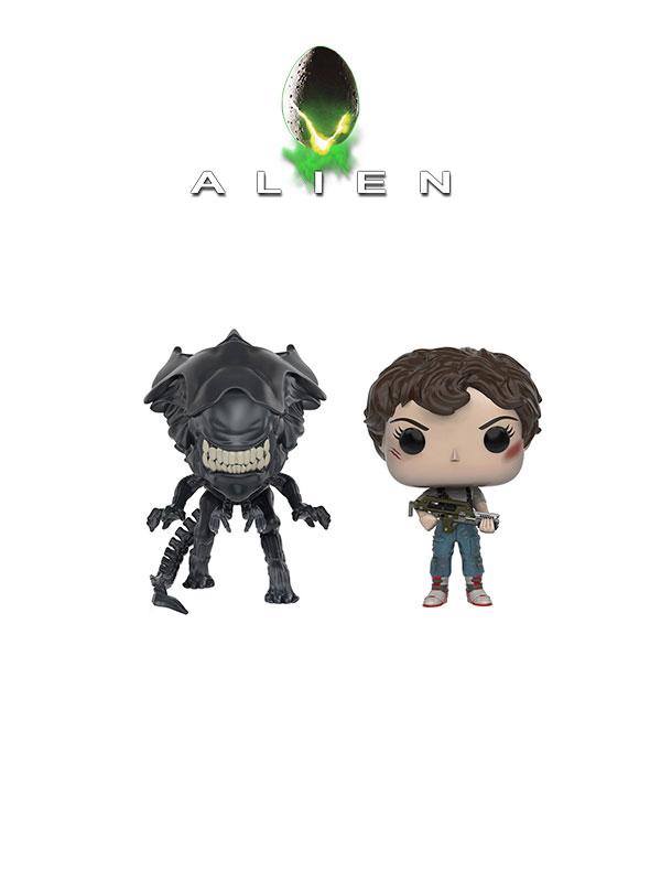 Funko Movies Aliens Ripley & Alien Queen Oversize