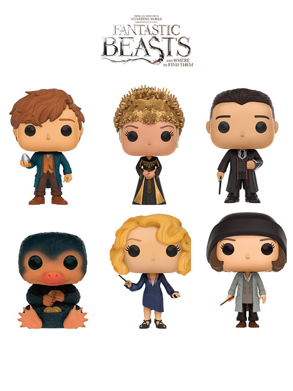 Funko Movies Fantastic Beasts And Where To Find Them 6 Pack