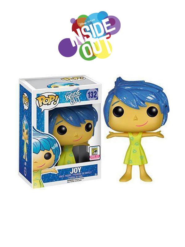 Funko Disney Inside Out Joy Sparkle Hair Exclusive SDCC 2016