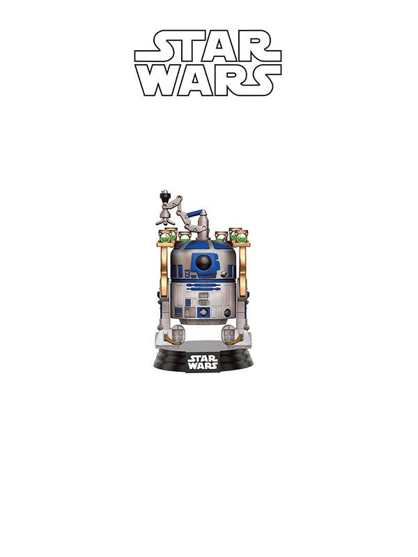 Funko Movies Star Wars R2-D2 Jabba's Skiff Smuggler Bounty Exclusive