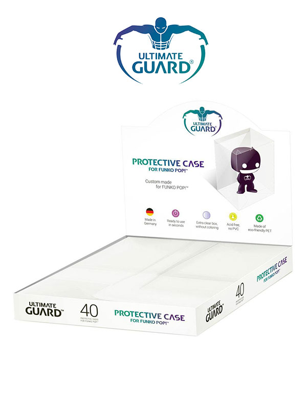 Ultimate Guard Funko Protector Case Soft Pack 40 Pieces