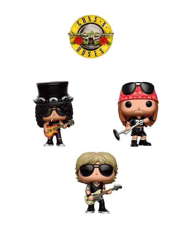 Funko Rocks Guns'n Roses Set