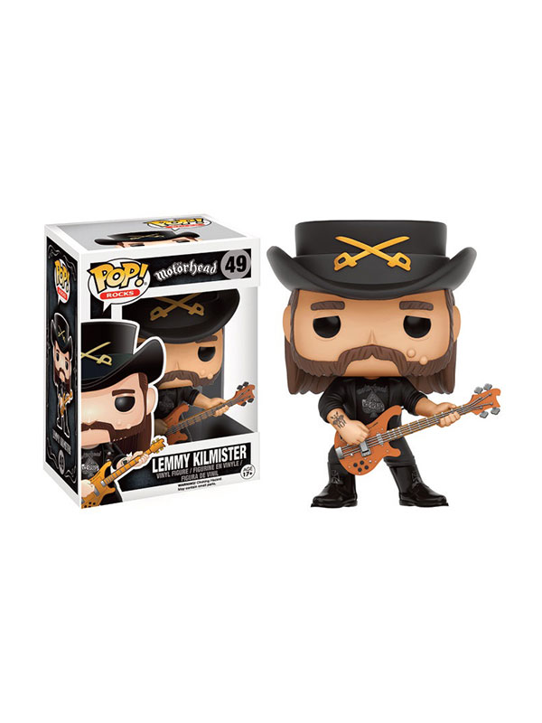 Funko Rocks Motorhead Lemmy Kilmister