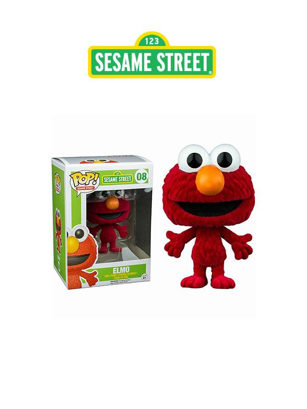 Funko Animation Sesame Street Elmo Flocked Exclusive