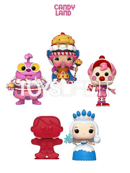 Funko Retrò Toys Candy Land King Candy/ Mr. Mint( Jolly/ Queen Frostine/ Player Piece
