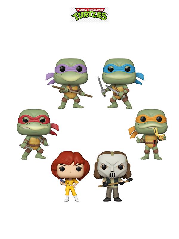 Funko Retrò Toys Teenage Mutant Ninja Turtles