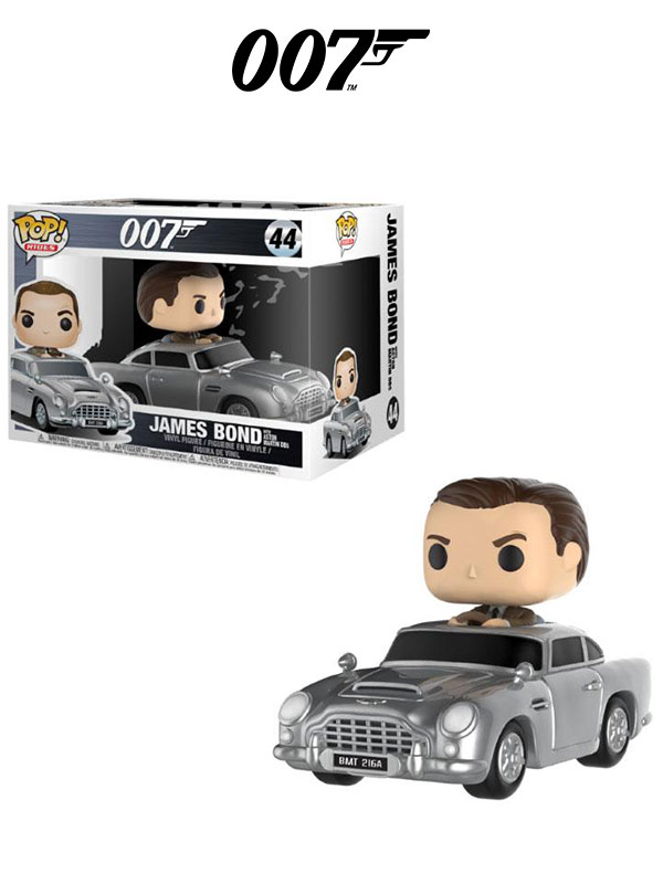 Funko Rides 007 James Bond On Aston Martin