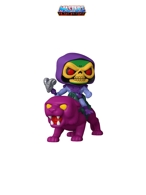 Funko Rides Animation MOTU Skeletor On Panthor