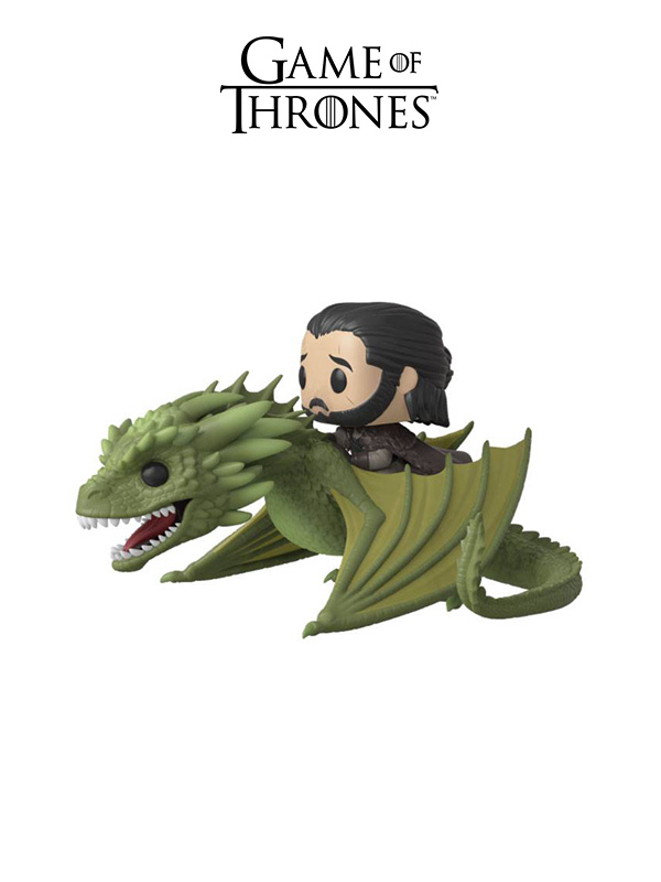 Funko Rides Game Of Thrones Jon On Raeghal