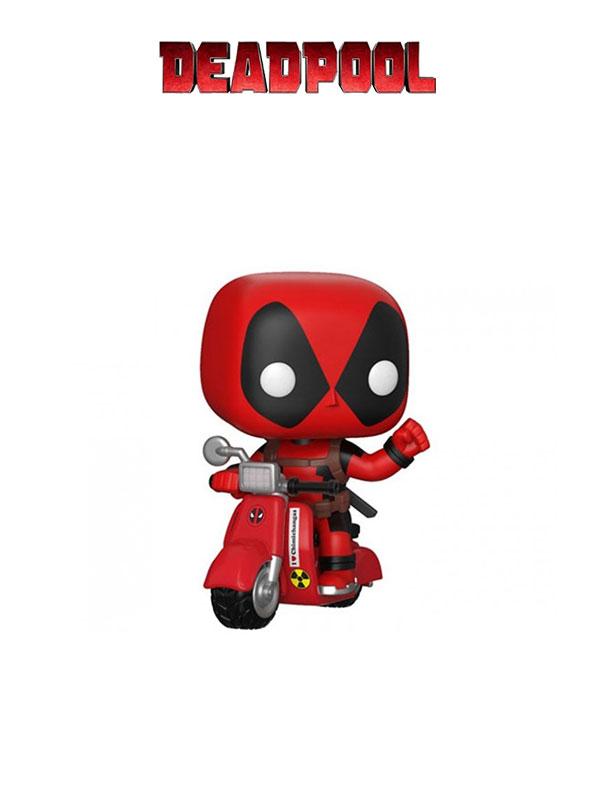 Funko Rides Marvel Deadpool On Scooter