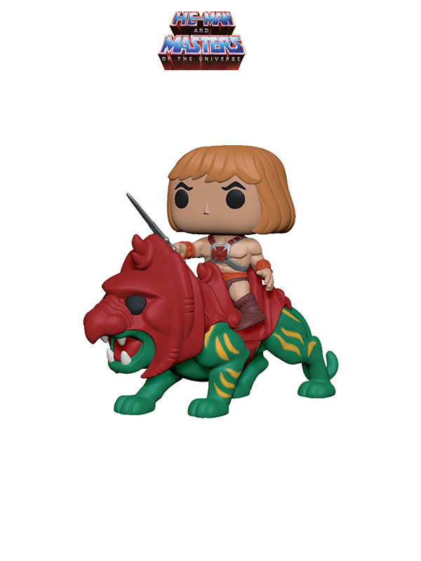Funko Rides Masters Of The Universe He-Man On Battle Cat