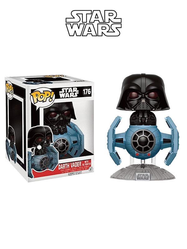 Funko Rides Star Wars Darth Vader On Tie-Fighter
