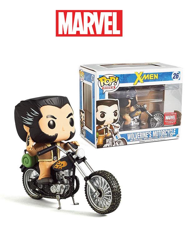 Funko Rides X-Men Wolverine's Motorcycle Marvel Collectors Corps Exclusive