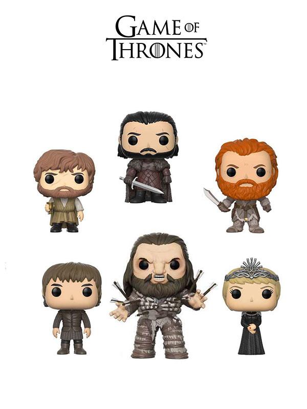 Funko Television Game Of Thrones Jon Snow Cercei Bran Tyrion Tormund & Wun Wun Oversize