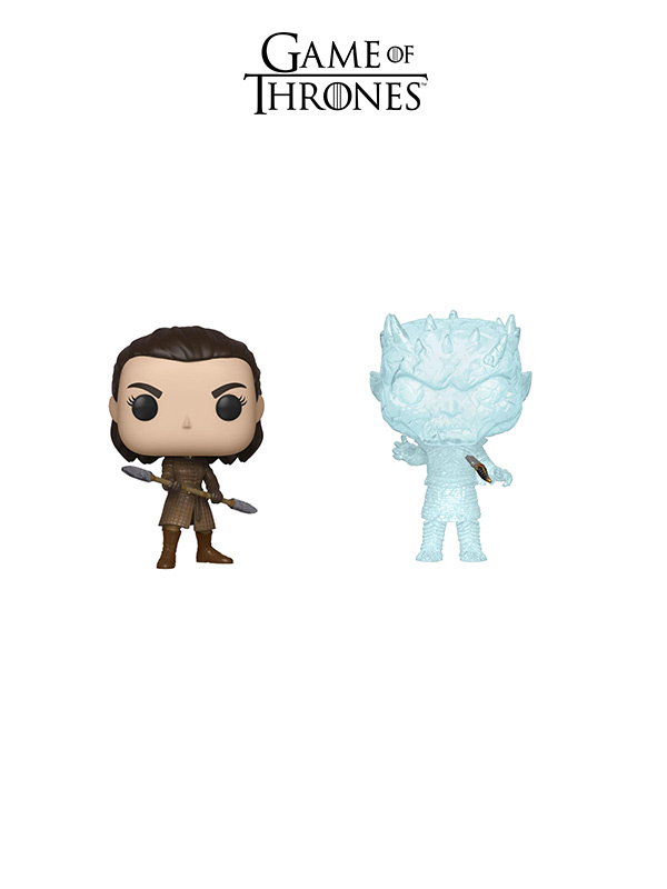Funko Television Game Of Thrones Arya Two Headed Spear/Night King With Dagger In Chest