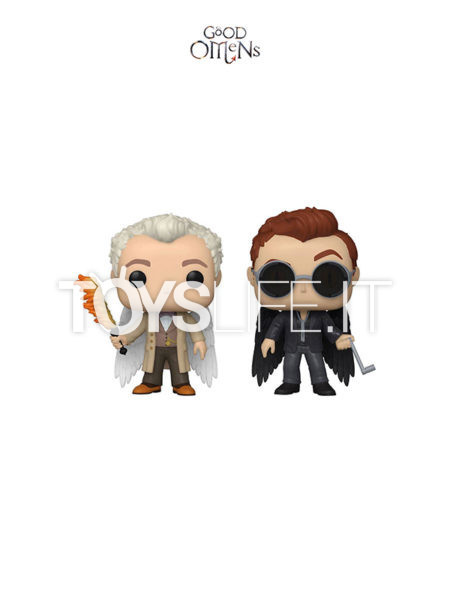 Funko Television Good Omens Aziraphel & Crowley with Wings Specialty Series 2-Pack