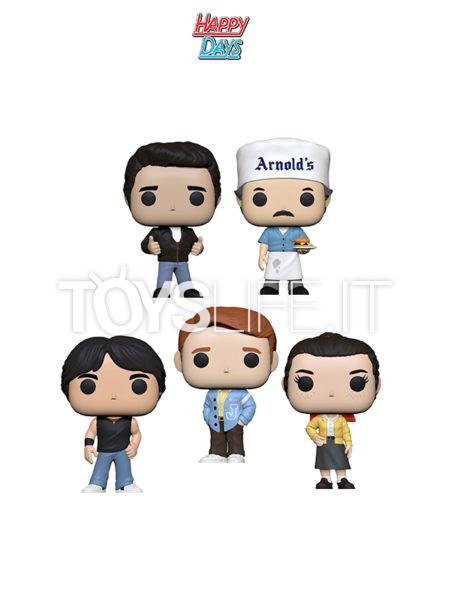 Funko Television Happy Days Richie/ Fonzie/ Chaky/ Joany/ Arnold