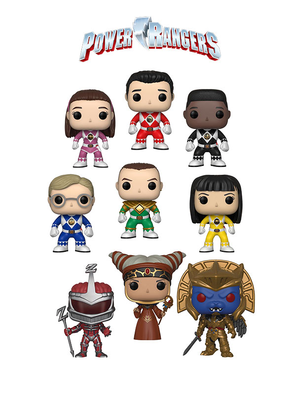 Funko Television Power Rangers Wave 2