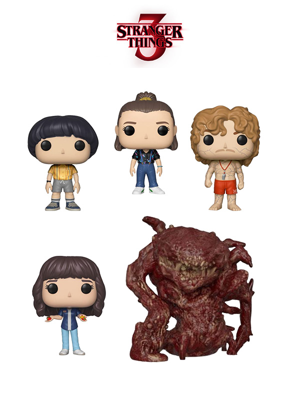 Funko Television Stranger Things 3 Eleven/Will/Joyce/Flayed Billy/Monster Oversize