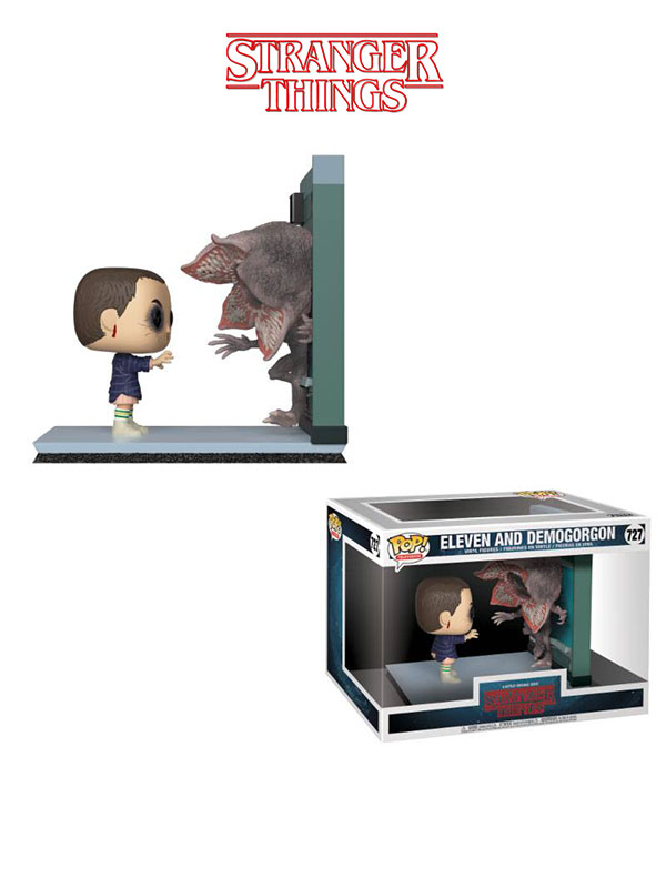 Funko Television Stranger Things Movie Moments Eleven And Demogorgon
