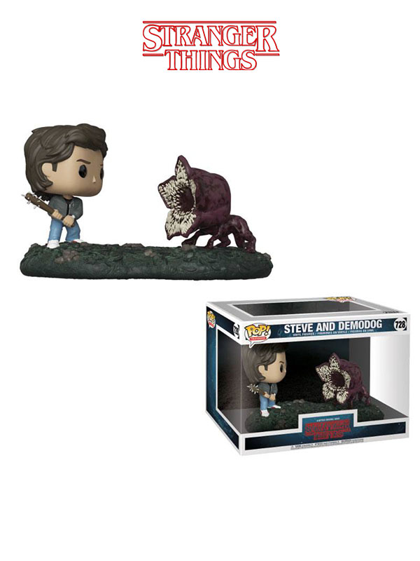 Funko Television Stranger Things Movie Moments Steve And Demodog