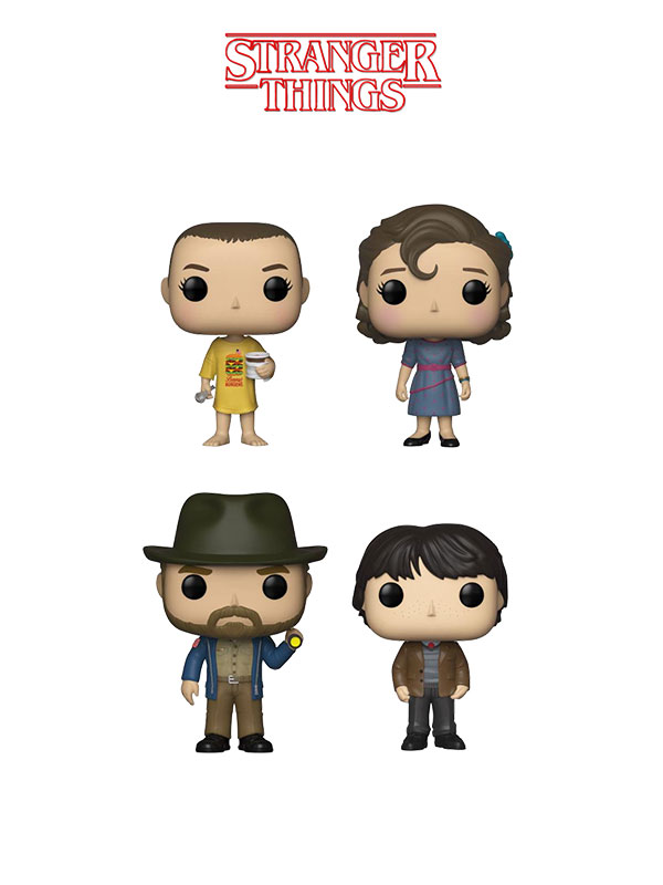 Funko Television Stranger Things Wave 5 Eleven Burger Shirt/Eleven Party/Mike Party/Hopper With Flashlight