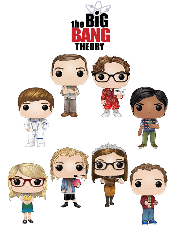 Funko Television The Big Bang Theory