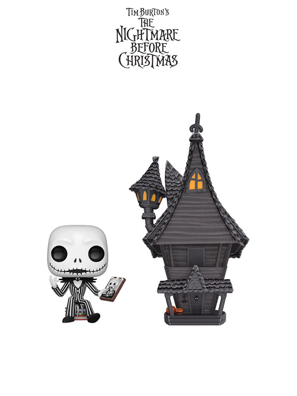 Funko Town Nightmare Before Christmas Jack and Jack's House