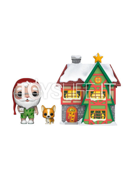 Funko Town Holiday Santa's House with Santa and Nutmeg