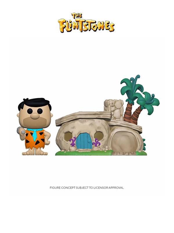 Funko Town The Flintstones Flintstone's Home