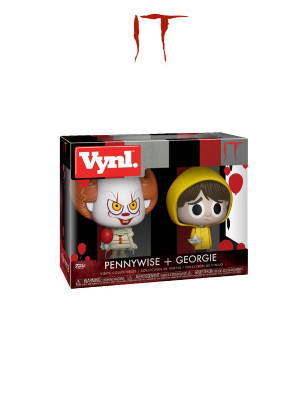 Funko Vynl. Movies IT Pennywise & Georgie Pack